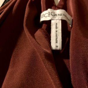 BCBGeneration Dresses - Midi Faux Wrap Dress